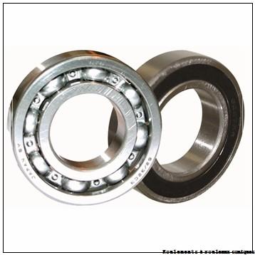44,45 mm x 82,931 mm x 25,4 mm  ISB 25580/25523 Roulements à rouleaux coniques