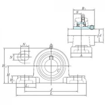 KOYO NAPK207-21 unités de roulement