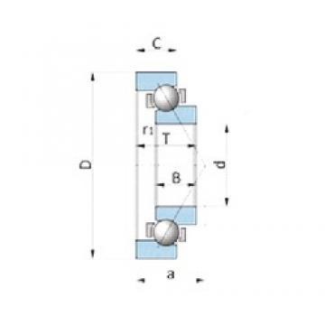 NTN SF4815VP-1 roulements à billes à contact oblique