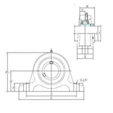 KOYO UCIP212-39 unités de roulement