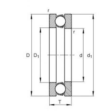 FAG 51136-MP butées à billes