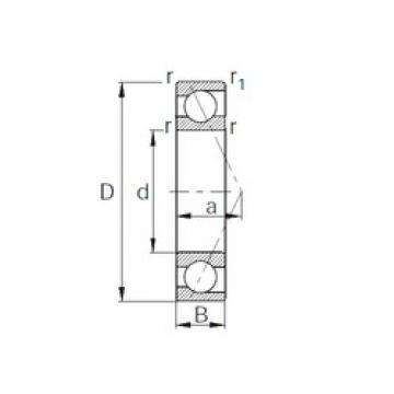 190 mm x 260 mm x 33 mm  CYSD 7938 roulements à billes à contact oblique