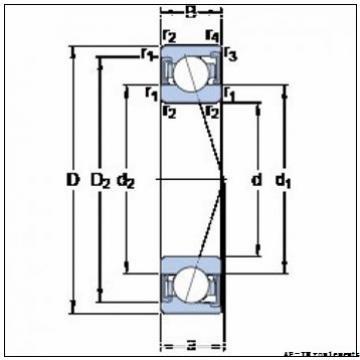 Axle end cap K412057-90011 Backing ring K95200-90010        Applications industrielles Timken Ap Bearings