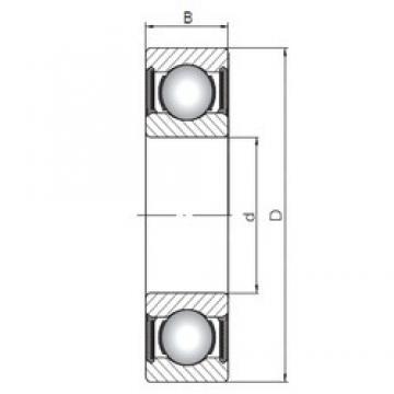 10 mm x 35 mm x 11 mm  ISO 6300-2RS roulements rigides à billes