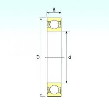 60 mm x 95 mm x 18 mm  ISB 6012-2RS roulements rigides à billes