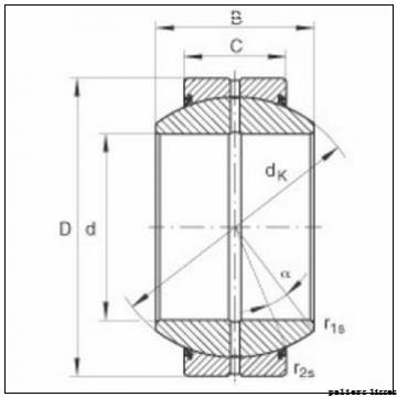 100 mm x 105 mm x 115 mm  SKF PCM 100105115 E paliers lisses