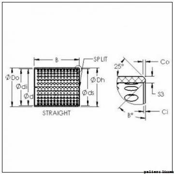 45 mm x 50 mm x 50 mm  SKF PCM 455050 E paliers lisses