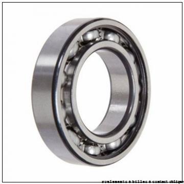 35 mm x 80 mm x 21 mm  ISO 7307 B roulements à billes à contact oblique