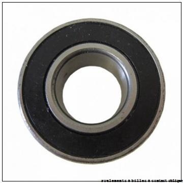 28,575 mm x 63,5 mm x 15,875 mm  RHP LJT1.1/8 roulements à billes à contact oblique