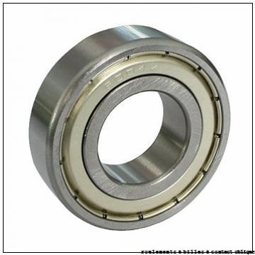 340 mm x 620 mm x 118 mm  ISB QJ 1268 roulements à billes à contact oblique