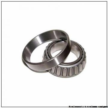44,45 mm x 95,25 mm x 28,575 mm  NSK HM903249/HM903210 Roulements à rouleaux coniques