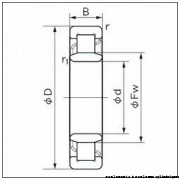100 mm x 150 mm x 37 mm  ISO NCF3020 V roulements à rouleaux cylindriques