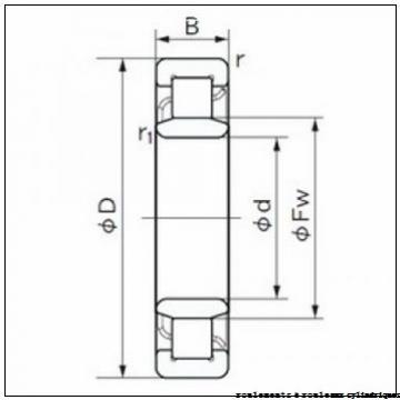 75 mm x 160 mm x 55 mm  NKE NU2315-E-M6 roulements à rouleaux cylindriques