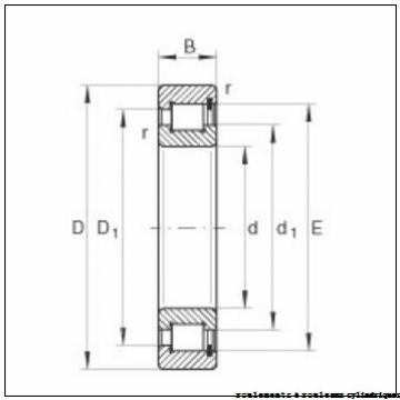 100 mm x 215 mm x 73 mm  FAG NJ2320-E-TVP2 + HJ2320-E roulements à rouleaux cylindriques