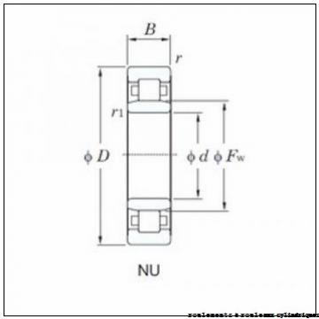 80,000 mm x 170,000 mm x 39,000 mm  SNR NU316EM roulements à rouleaux cylindriques