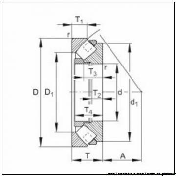 30 mm x 47 mm x 3 mm  NBS 81106TN roulements à rouleaux de poussée