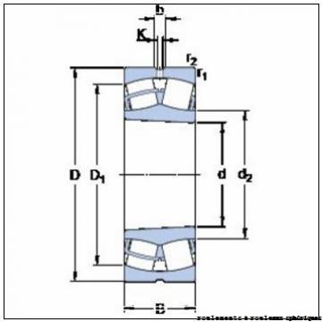 120 mm x 200 mm x 62 mm  ISO 23124 KCW33+AH3124 roulements à rouleaux sphériques