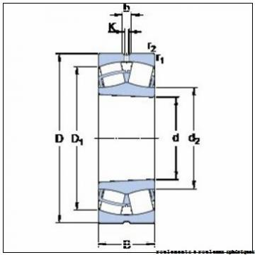 670 mm x 900 mm x 170 mm  NKE 239/670-MB-W33 roulements à rouleaux sphériques