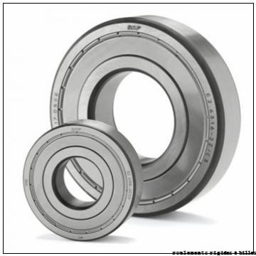 9 mm x 20 mm x 6 mm  ISO 619/9-2RS roulements rigides à billes