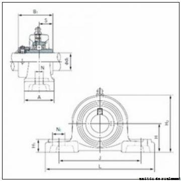 Toyana UCPA205 unités de roulement