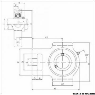KOYO SAPFL201-8 unités de roulement