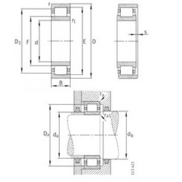 460 mm x 680 mm x 100 mm  FAG NU1092-M1 roulements à rouleaux cylindriques
