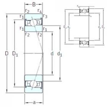 50 mm x 80 mm x 16 mm  SNFA HX50 /S/NS 7CE3 roulements à billes à contact oblique