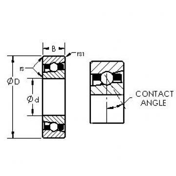 AST H71936C/HQ1 roulements à billes à contact oblique