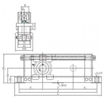 KOYO UCTU210-700 unités de roulement