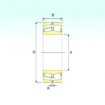 750 mm x 1000 mm x 250 mm  ISB 249/750 roulements à rouleaux sphériques