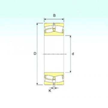 90 mm x 160 mm x 40 mm  ISB 22218 roulements à rouleaux sphériques