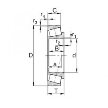 29 mm x 50.292 mm x 14.732 mm  KBC L45449/L45410 Roulements à rouleaux coniques