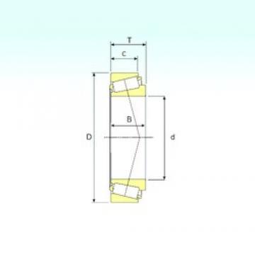 66,675 mm x 119,985 mm x 30,162 mm  ISB 39590/39528 Roulements à rouleaux coniques