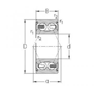 50 mm x 90 mm x 30,2 mm  NKE 3210-B-2Z-TV roulements à billes à contact oblique