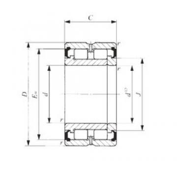 75 mm x 105 mm x 30 mm  IKO NAG 4915UU roulements à rouleaux cylindriques