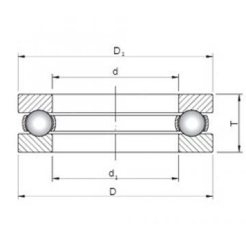 ISO 511/530 butées à billes