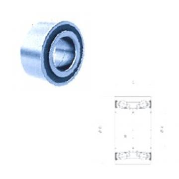40 mm x 75 mm x 50 mm  PFI PW40750050CSHD roulements à billes à contact oblique