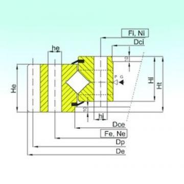 ISB ER1.50.2500.400-1SPPN roulements à rouleaux de poussée