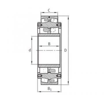 300 mm x 780 mm x 280 mm  FAG Z-531177.04.DRGL roulements à rouleaux sphériques