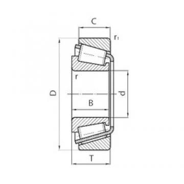 70 mm x 130 mm x 56 mm  SKF 332330B/Q Roulements à rouleaux coniques