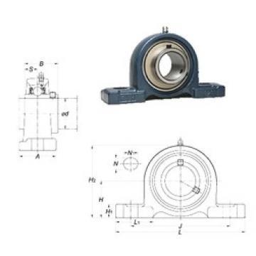 FYH UCPX14-44 unités de roulement