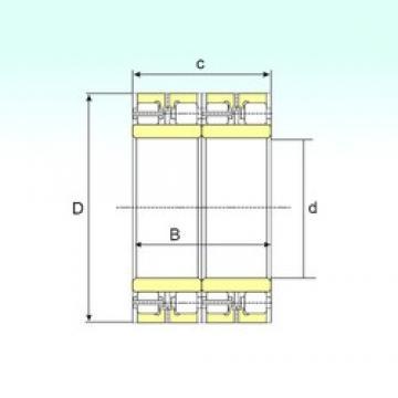 850 mm x 1150 mm x 840 mm  ISB FCDP 170230840 roulements à rouleaux cylindriques