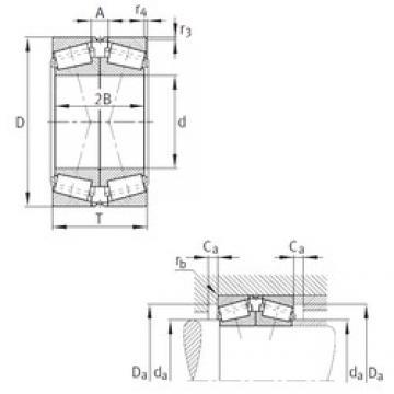 FAG 32016-X-N11CA-A150-200 Roulements à rouleaux coniques