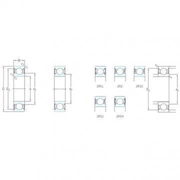 6 mm x 10 mm x 3 mm  SKF W627/6-2Z roulements rigides à billes