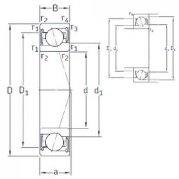 20 mm x 37 mm x 9 mm  SNFA VEB 20 /S/NS 7CE1 roulements à billes à contact oblique